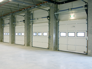 Industrial Sectional Doors Ireland | Larco Engineering & Industrial Sectional Doors | Insulated Sectional Door | Larco
