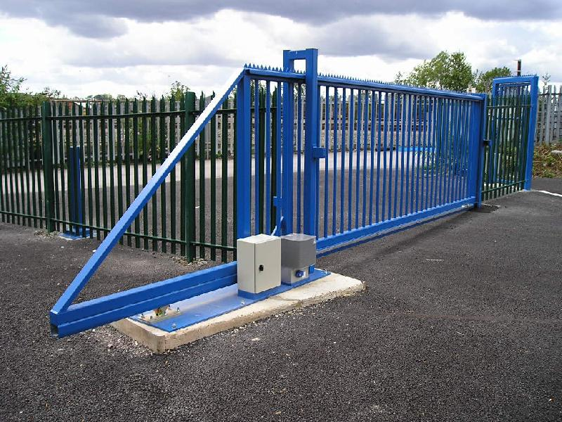 Safety barriers for bulmers industrial doors loading